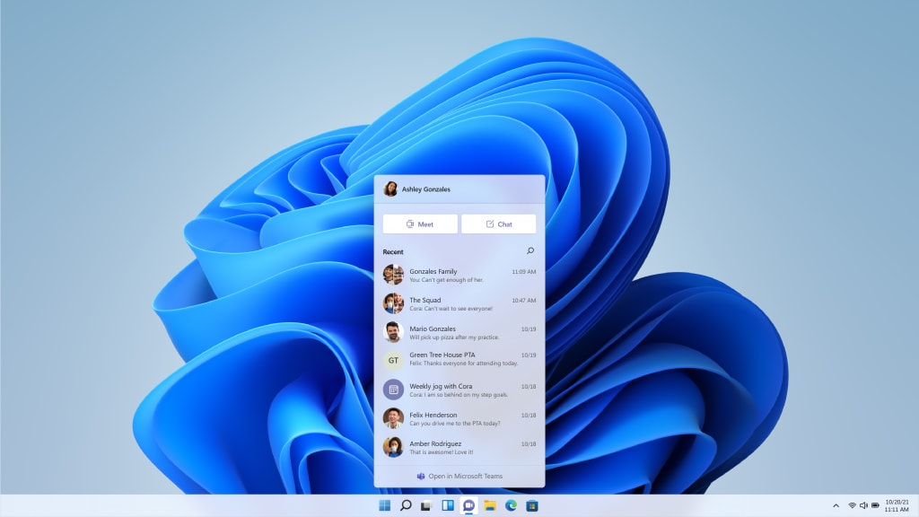 Windows 11 Chat features