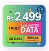 airtel unlimited data package sri lanka 2499