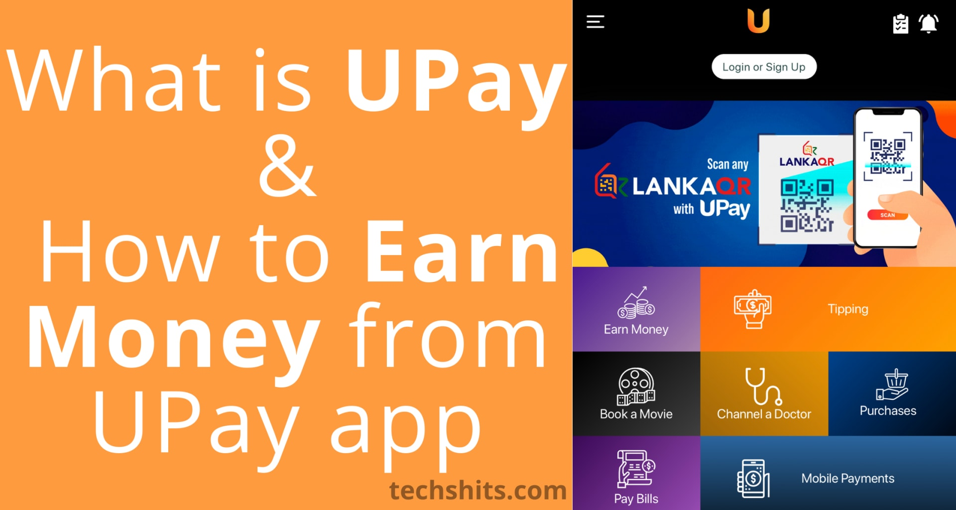 earn from upay