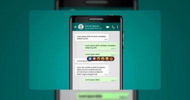 Whatsapp reaction how to activate
