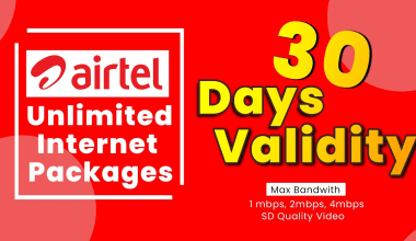 Airtel unlimited data packages in Sri lanka
