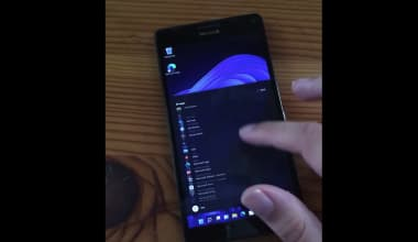Windows 11 install on Mobile