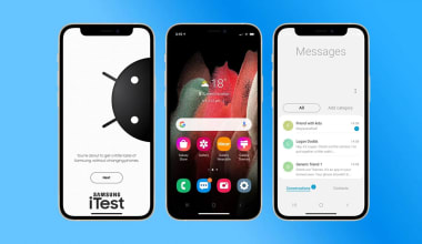 How to download Samsung iTest App