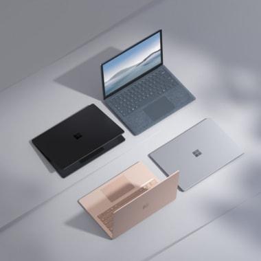 Surface laptop 4 series colour