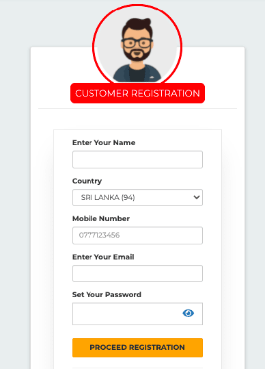 My DTHPay Sign up