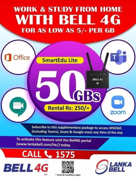 Bell 4G LTE Zoom Package