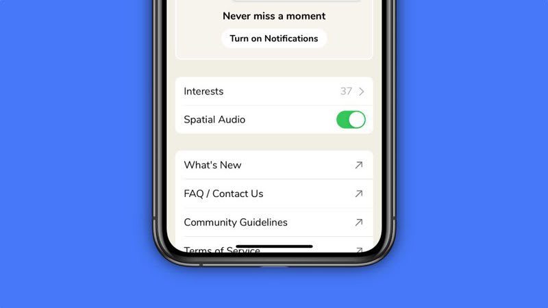 Spatial Audio for iOS Devices