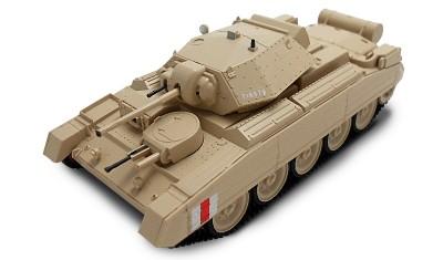 готовая модель танка Crusader Mk.I