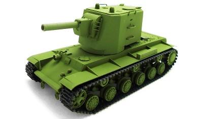 diecast tank KV-2(U-0) (Pilot #1)