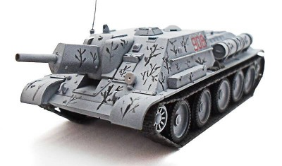 diecast tank SU-122