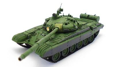 готовая модель танка Т-72А