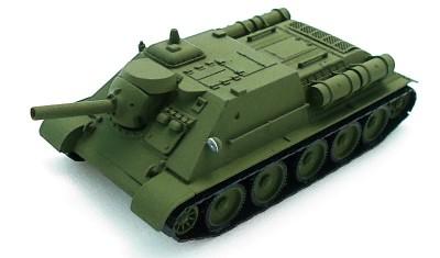 diecast tank SU-122III