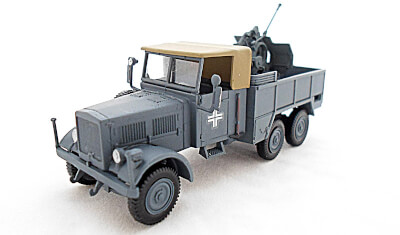 diecast military vehicle Einheits Diesel/Flak
