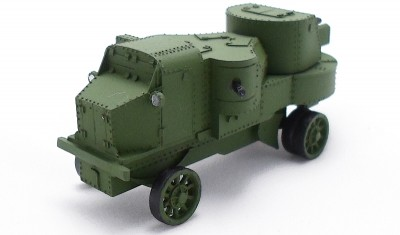 diecast military vehicle Putilow Garford