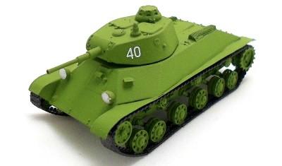 готовая модель танка T-50