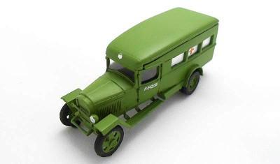 готовая модель грузовика ГАЗ-55 (1943)