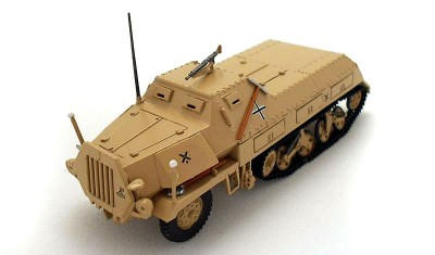 готовая модель бронеавтомобиля Mun Sd.Kfz.4/1