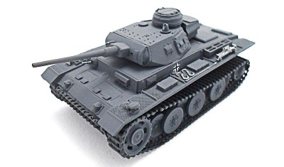 готовая модель танка VK2001 (D)
