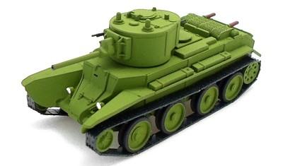 diecast tank BT-7А (L-11)