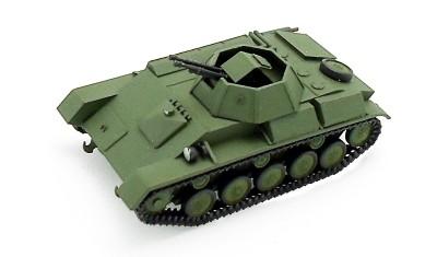 готовая модель танка T-90