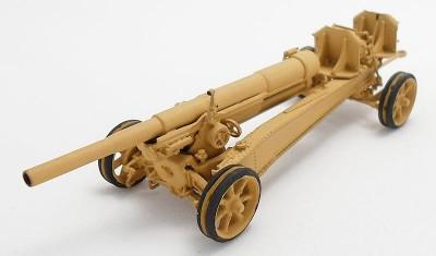 готовая модель пушки 155mm GPF / 15.5cm K-418(f)