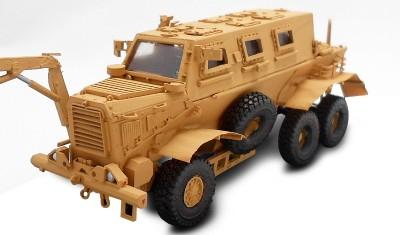 diecast military vehicle Buffalo MPCV