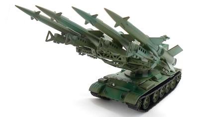 гото   вая модель танка S-125M Neva SC