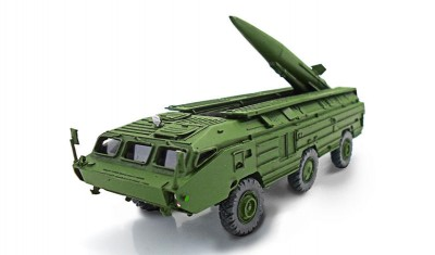 diecast military vehicle 9P129 Tochka