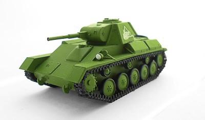 готовая модель танка Т-70