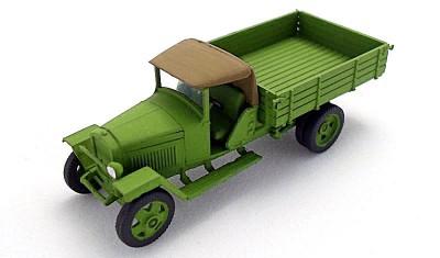 готовая модель грузовика ГАЗ-ММ (1941)