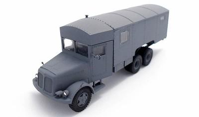 готовая модель грузовика Tatra T-111-8000