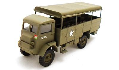готовая модель грузовика Bedford QLT