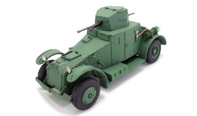 diecast military vehicle Lafly 80AM