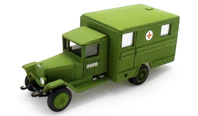 diecast truck ZIS-44