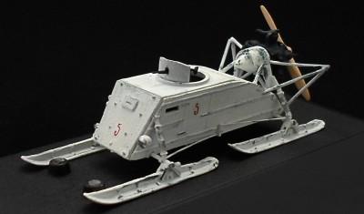 готовая модель Аэросани НКЛ-26