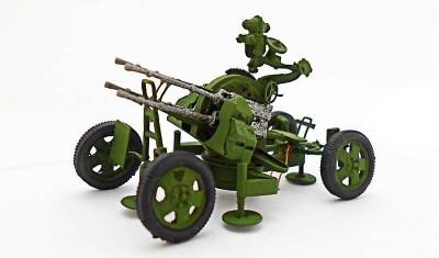 diecast gun ZPU-4