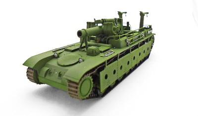 готовая модель танка СУ-14/305
