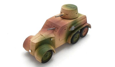 diecast military vehicle Tatra OA wz.30