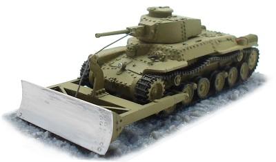готовая модель танка Type-97 Dozer