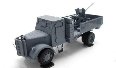 готовая модель грузовика Opel Blitz / Flak38