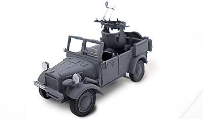 готовая модель бронеавтомобиля Kfz.4