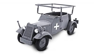 готовая модель бронеавтомобиля Kfz.14