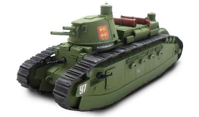 готовая модель танка FCM2C