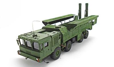 diecast military vehicle 9P78E Iskander