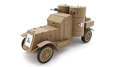 diecast military vehicle Austin Mk. IV