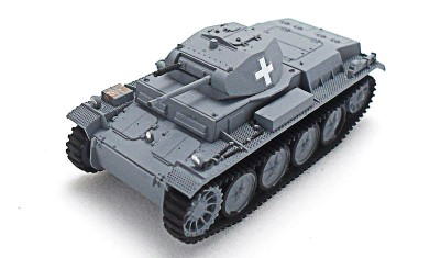 готовая модель танка Pz.Kpfw. II Ausf. D