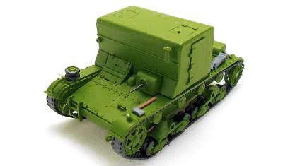 готовая модель танка Т-26ТБ
