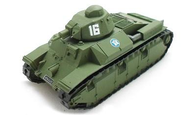 готовая модель танка Renault D2