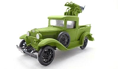 готовая модель автомобиля ГАЗ-4/4М