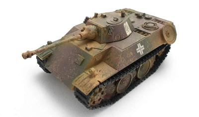 готовая модель танка VK.1602 Leopard